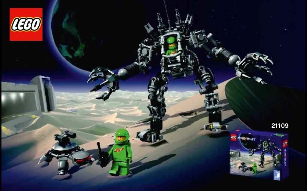 LEGO 21109 Exo Suit Box