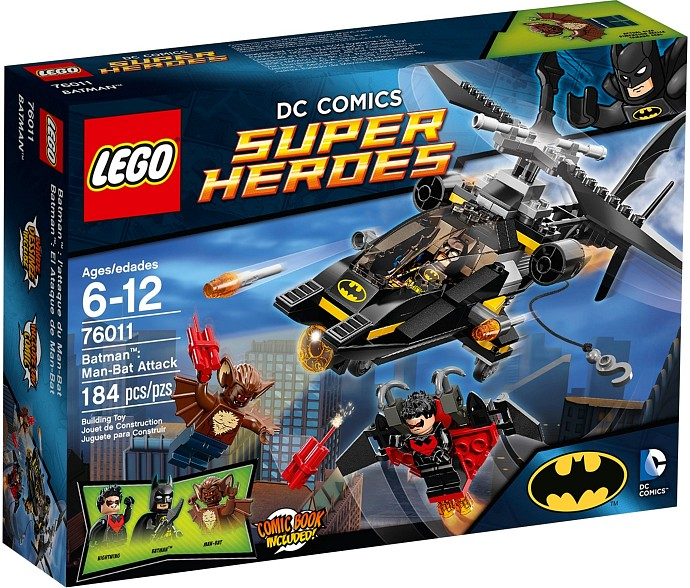 LEGO 76011 Batman Man-Bat Attack Box