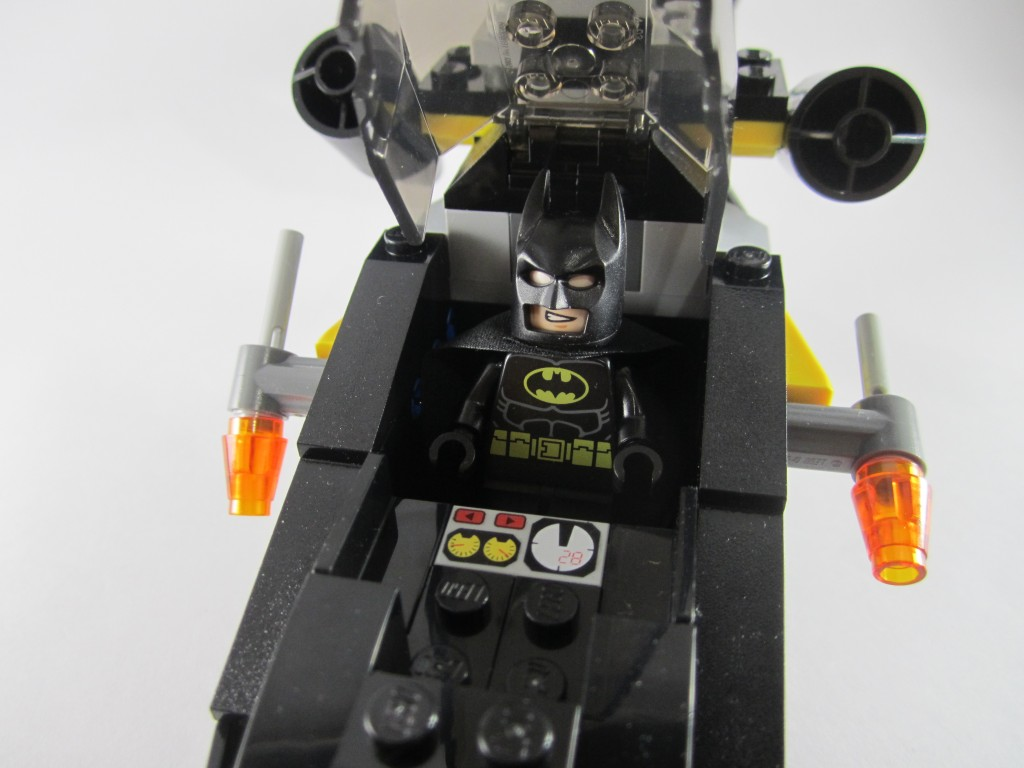 LEGO 76011 Man-Bat Attack Batman Helicopter Cockpit