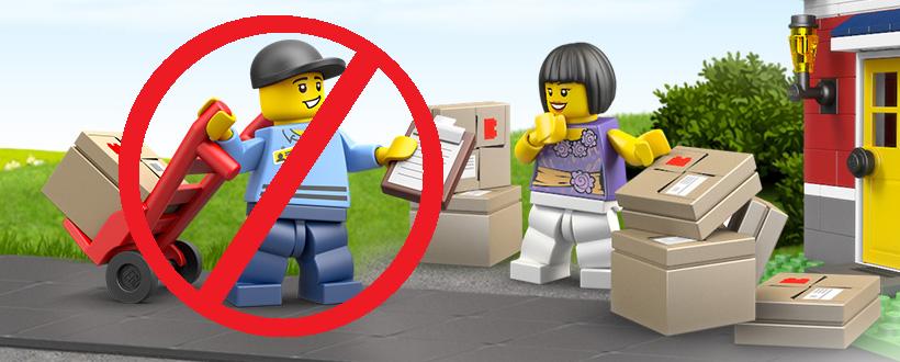 LEGO Australia Free Shipping
