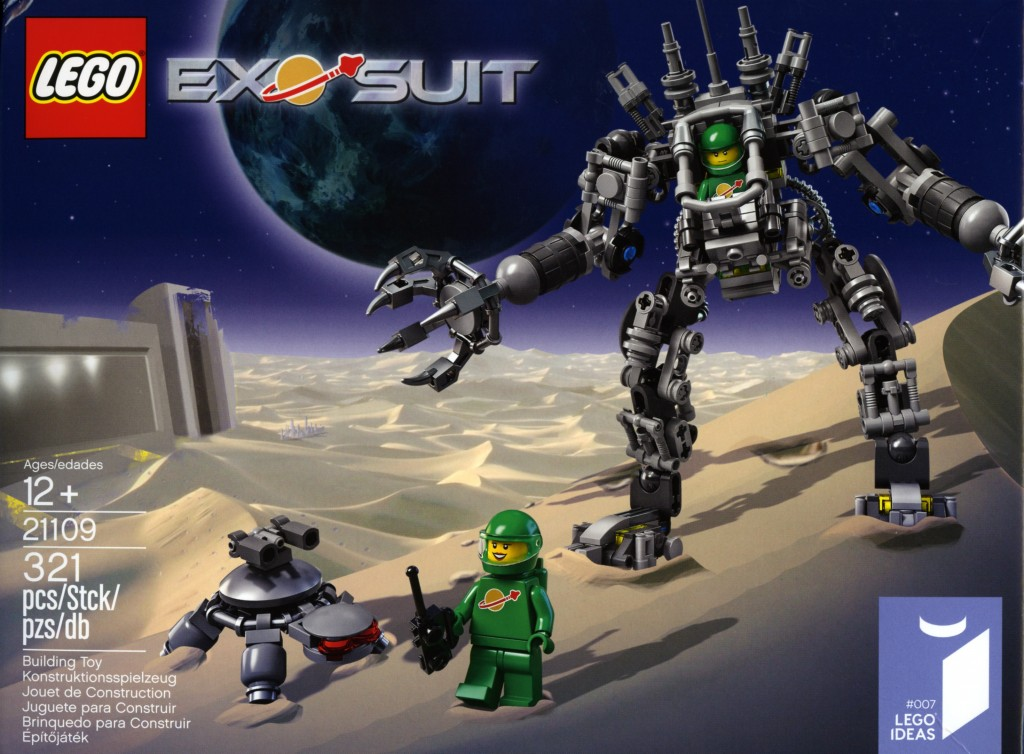 LEGO Exo-Suit Box Art