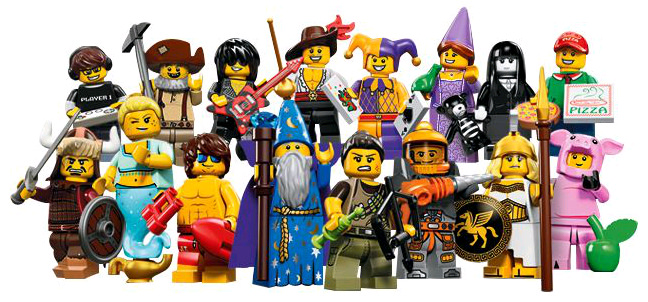 First look at all the characters from Collectible Minifigures Series 12!