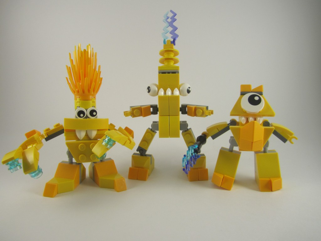 Review: LEGO Mixels – Electroids Tribe