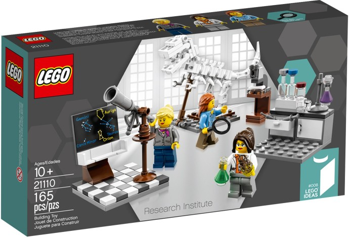 LEGO Research Institute Box Art
