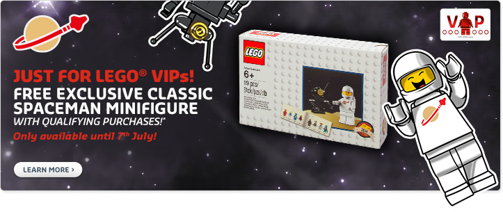 LEGO VIP July Retro Classic Spaceman