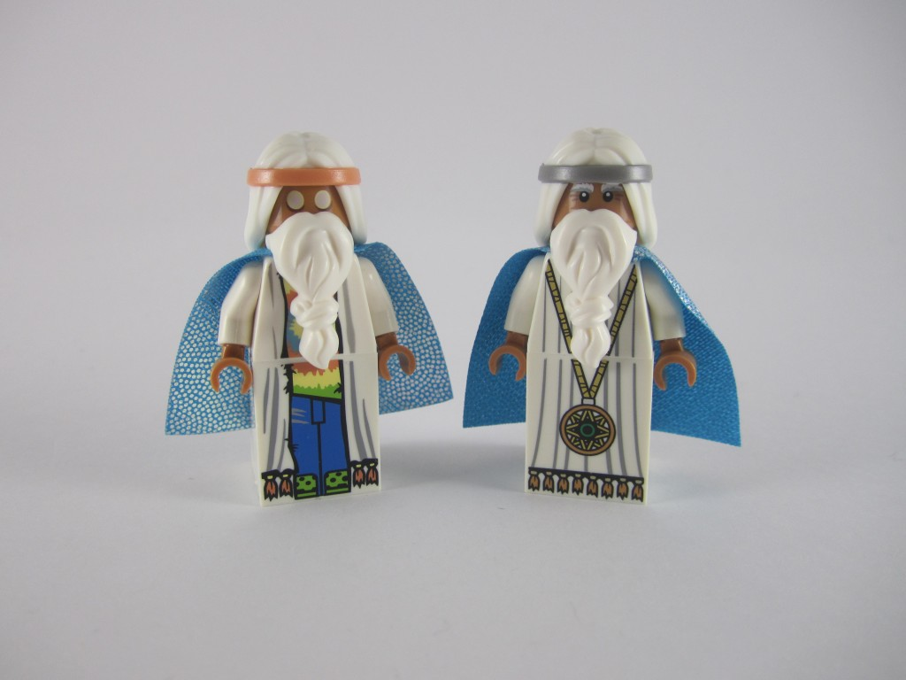 LEGO Vitruvius Young and Old