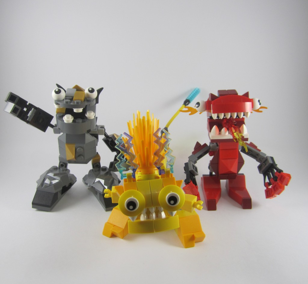 Mixels Series 1 Infernites Electroids Cragsters Max