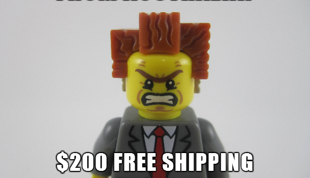 LEGO Australia Raises LEGO.com Free Shipping Threshold to $200