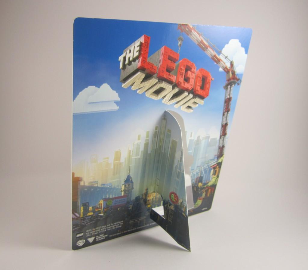The LEGO Movie 3D Emmet Back