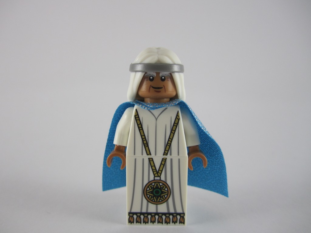 The LEGO Movie Young Vitruvius Without Beard