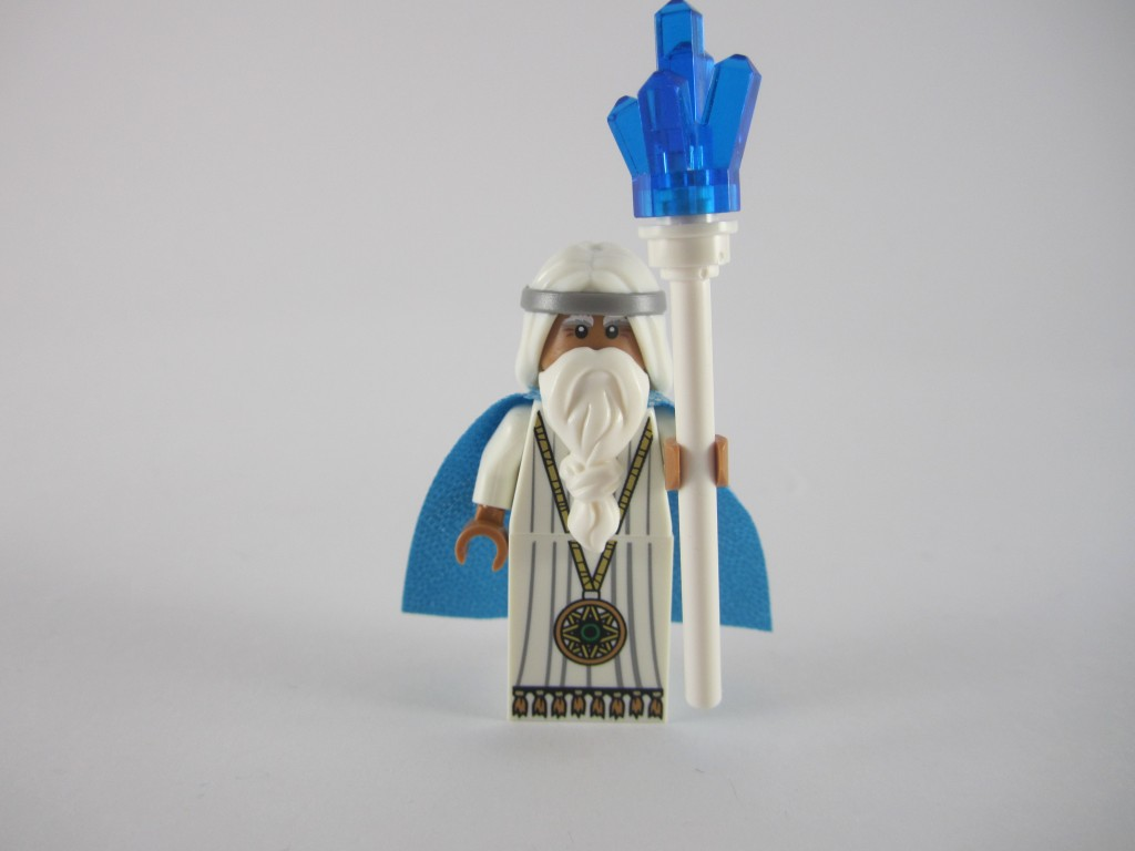 Review (sorta): The LEGO Movie 3D Blu-Ray Edition with Vitruvius Minifigure