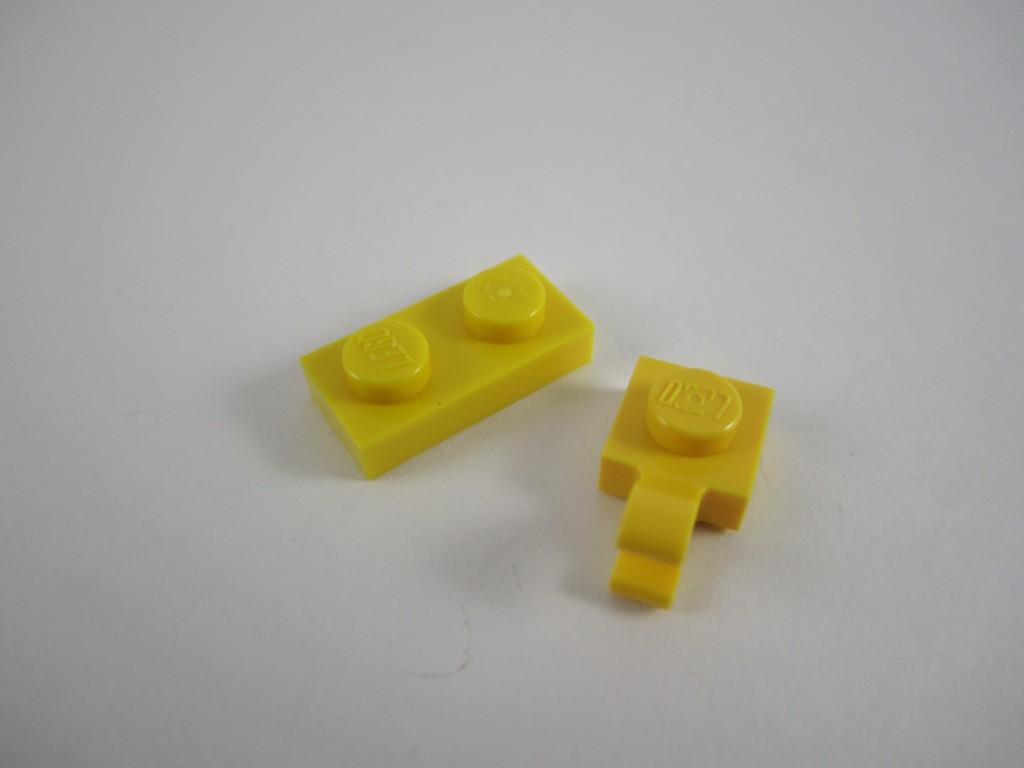 Uneven Yellow LEGO Bricks