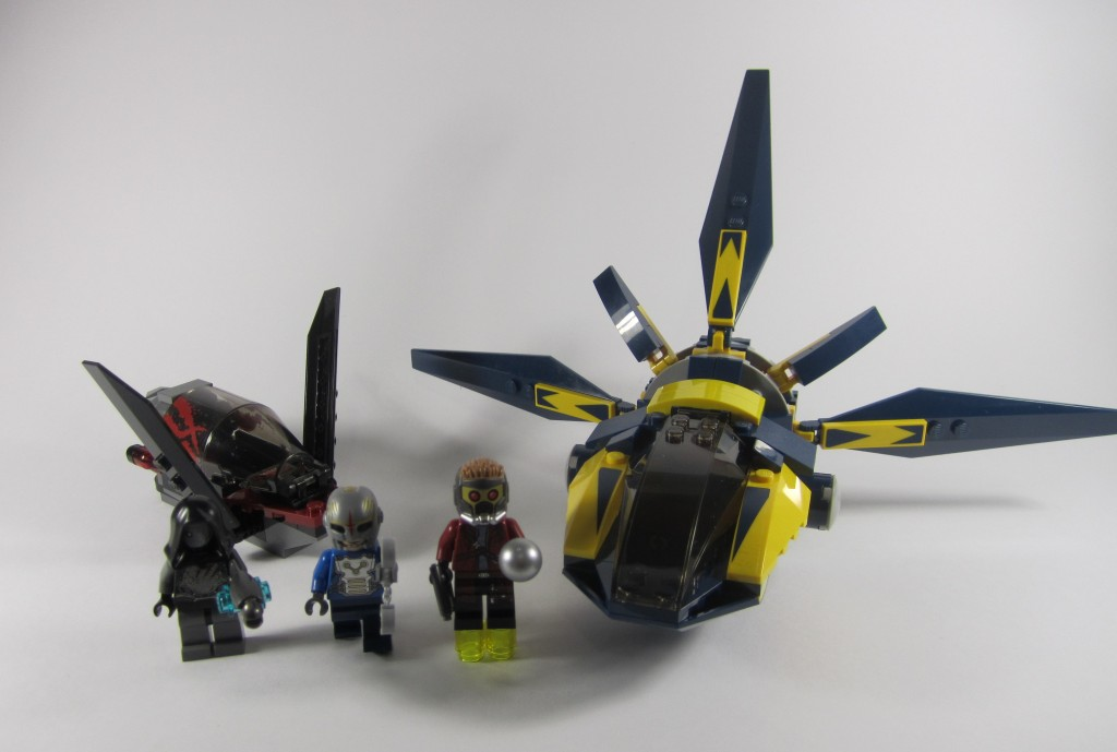 Review: LEGO 76019 Guardians of the Galaxy: Starblaster Showdown