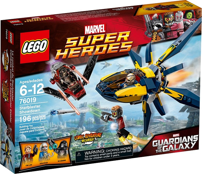 LEGO 76019 Starblaster Showdown Box