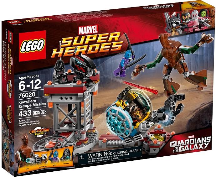 LEGO 76020 Knowhere Escape Mission Box