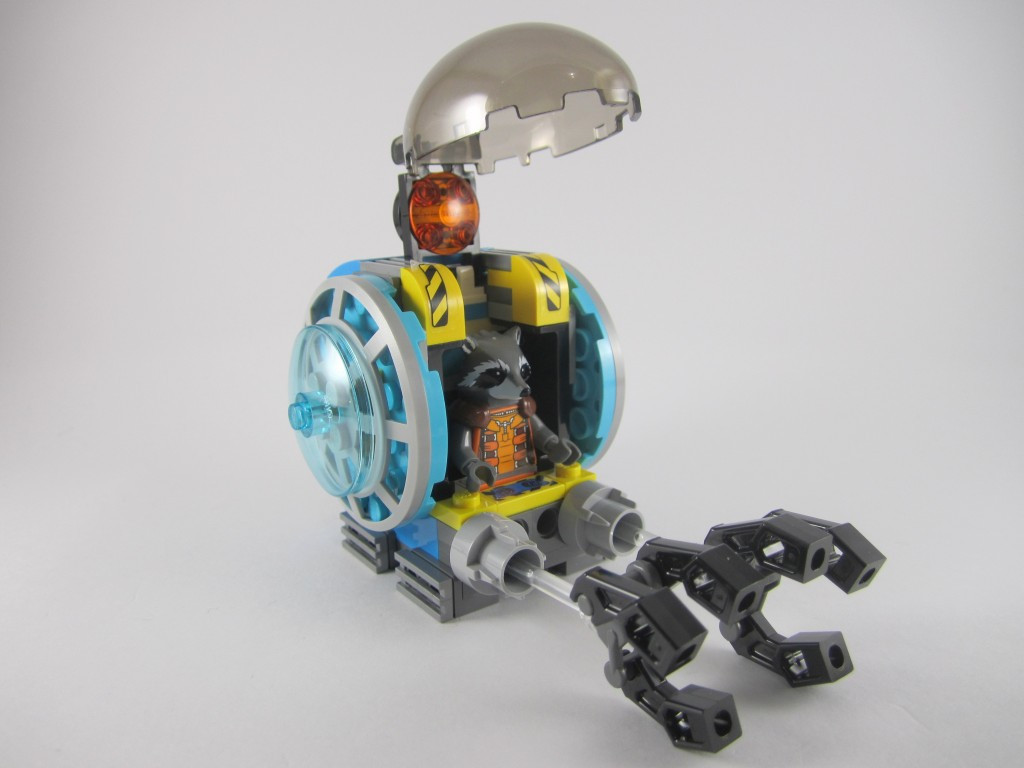 LEGO 76020 Knowhere Escape Mission Mining Pod with Rocket