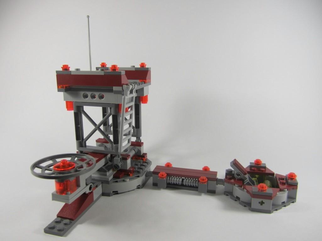 LEGO 76020 Knowhere Escape Mission Platform