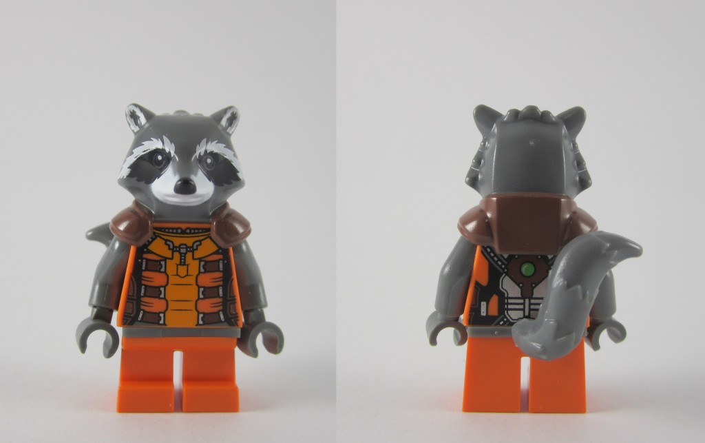 LEGO 76020 Knowhere Escape Mission Rocket Raccoon