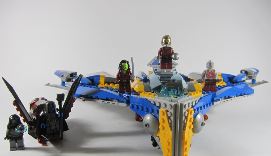 Review: LEGO 76021 Guardians of the Galaxy: The Milano Spaceship Rescue