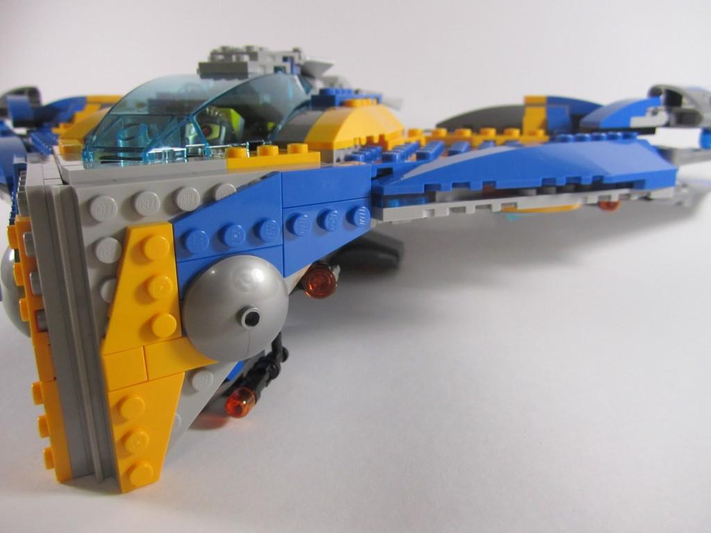 LEGO 76021 The Milano Spaceship Rescue Beack