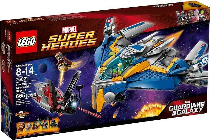 LEGO 76021 The Milano Spaceship Rescue Box