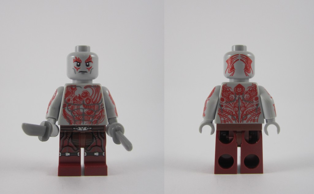 LEGO 76021 The Milano Spaceship Rescue Drax Mnifigure