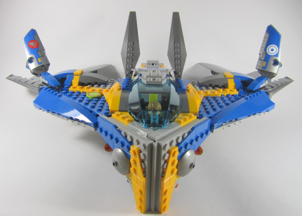 LEGO 76021 The Milano Spaceship Rescue Flaps Up