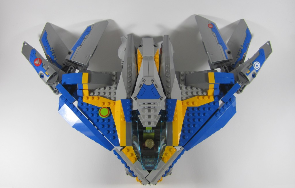 LEGO 76021 The Milano Spaceship Rescue From Above