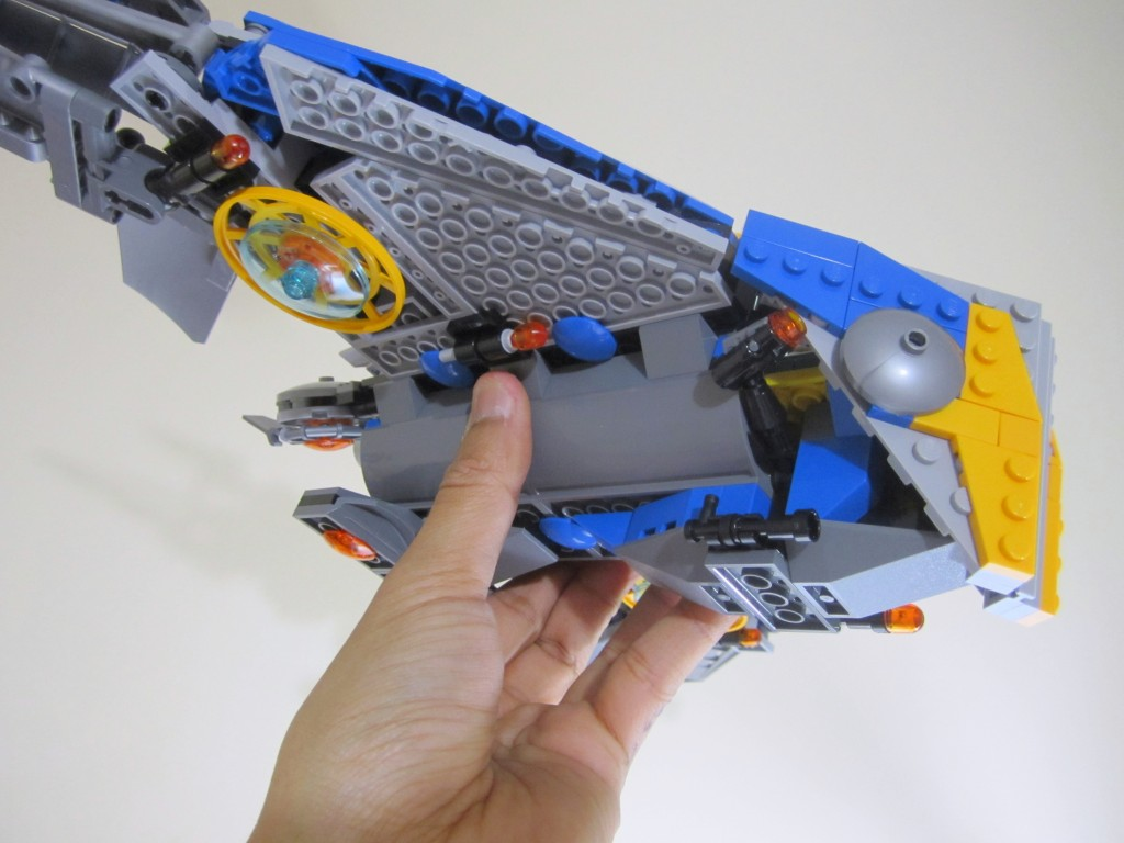 LEGO 76021 The Milano Spaceship Rescue Held from Below