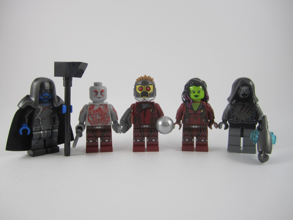 LEGO 76021 The Milano Spaceship Rescue Minifigures