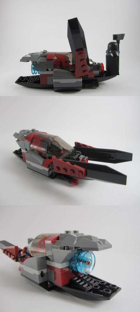 LEGO 76021 The Milano Spaceship Rescue Necrocraft