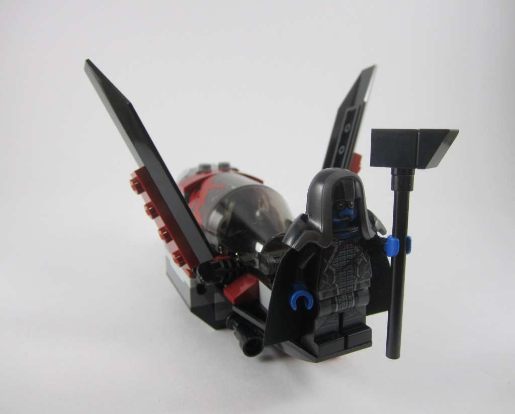 LEGO 76021 The Milano Spaceship Rescue Necrocraft with Ronan