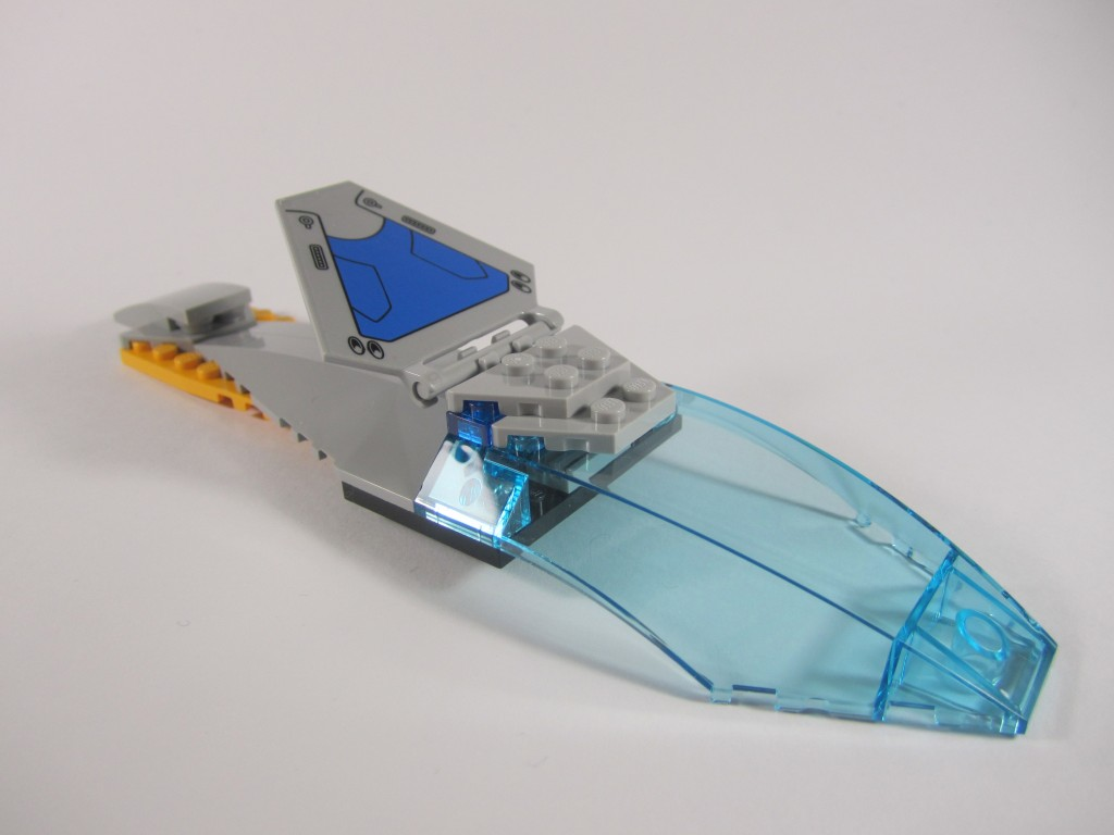 LEGO 76021 The Milano Spaceship Rescue Removable Roof