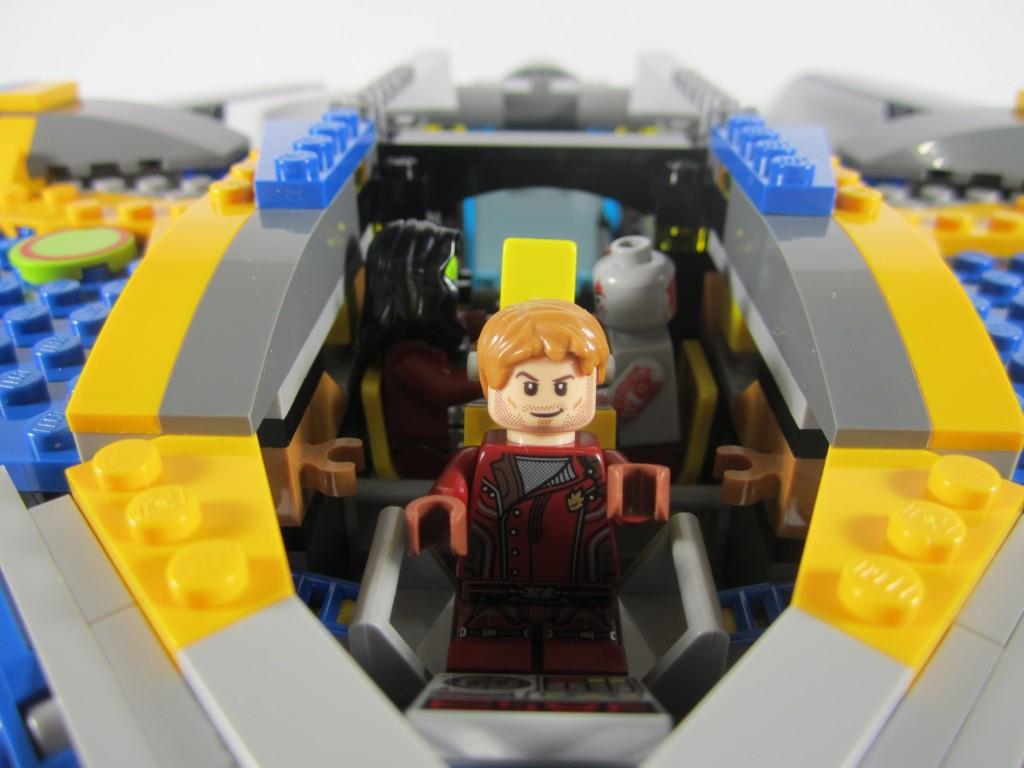 LEGO 76021 The Milano Spaceship Rescue Seating