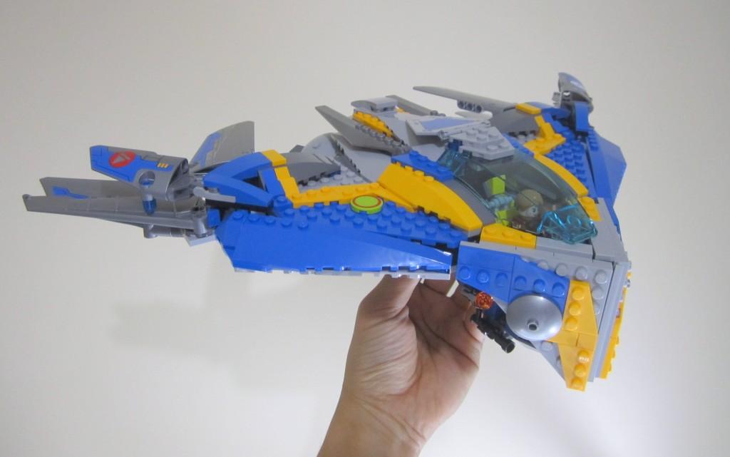 LEGO 76021 The Milano Spaceship Rescue Swoosh