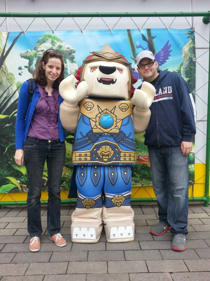 Rick and Caroline at Legoland California