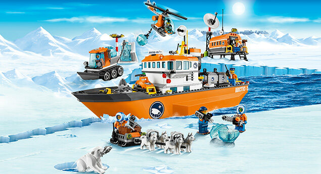 What is the LEGO City Arctic theme?