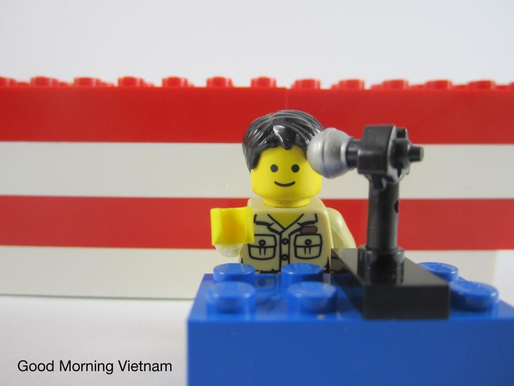 LEGO Good Morning Vietnam Robin Williams