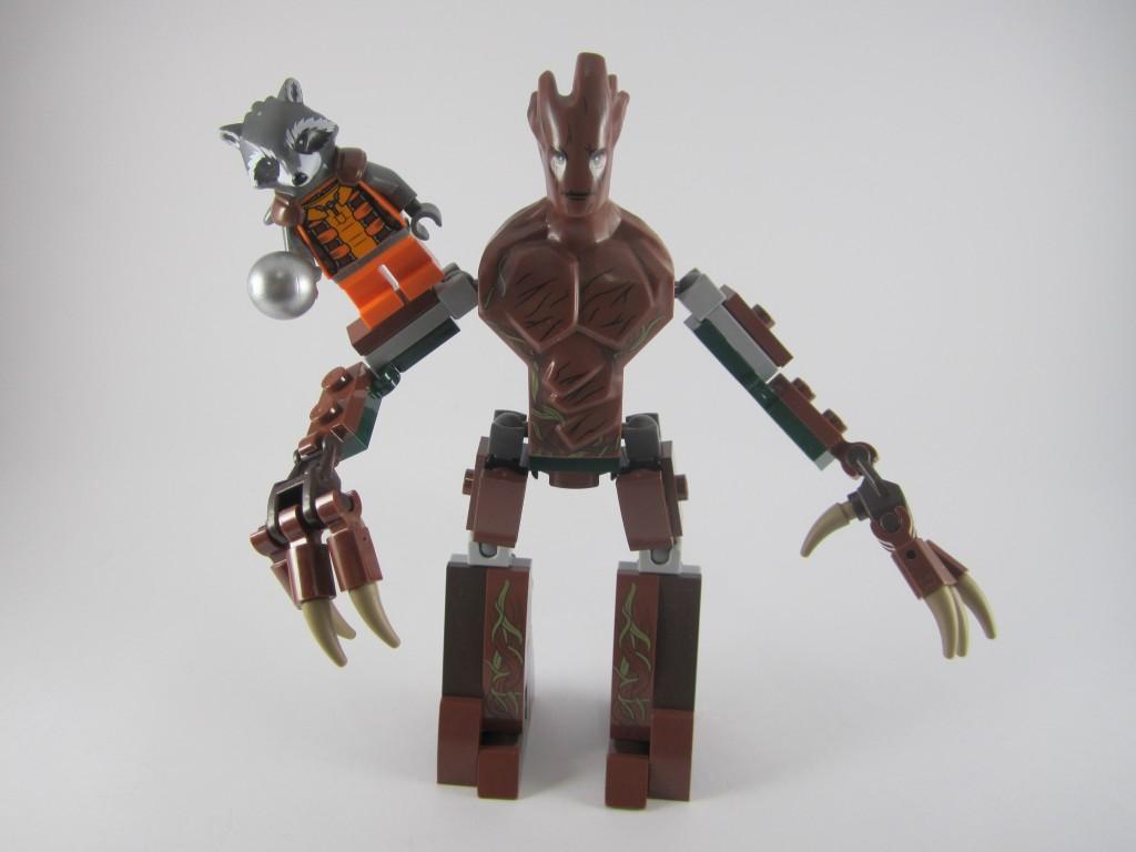 LEGO Groot and Rocket Raccoon