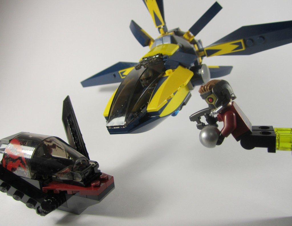 LEGO Guardians of the Galaxy 76011 Starblaster Showdown