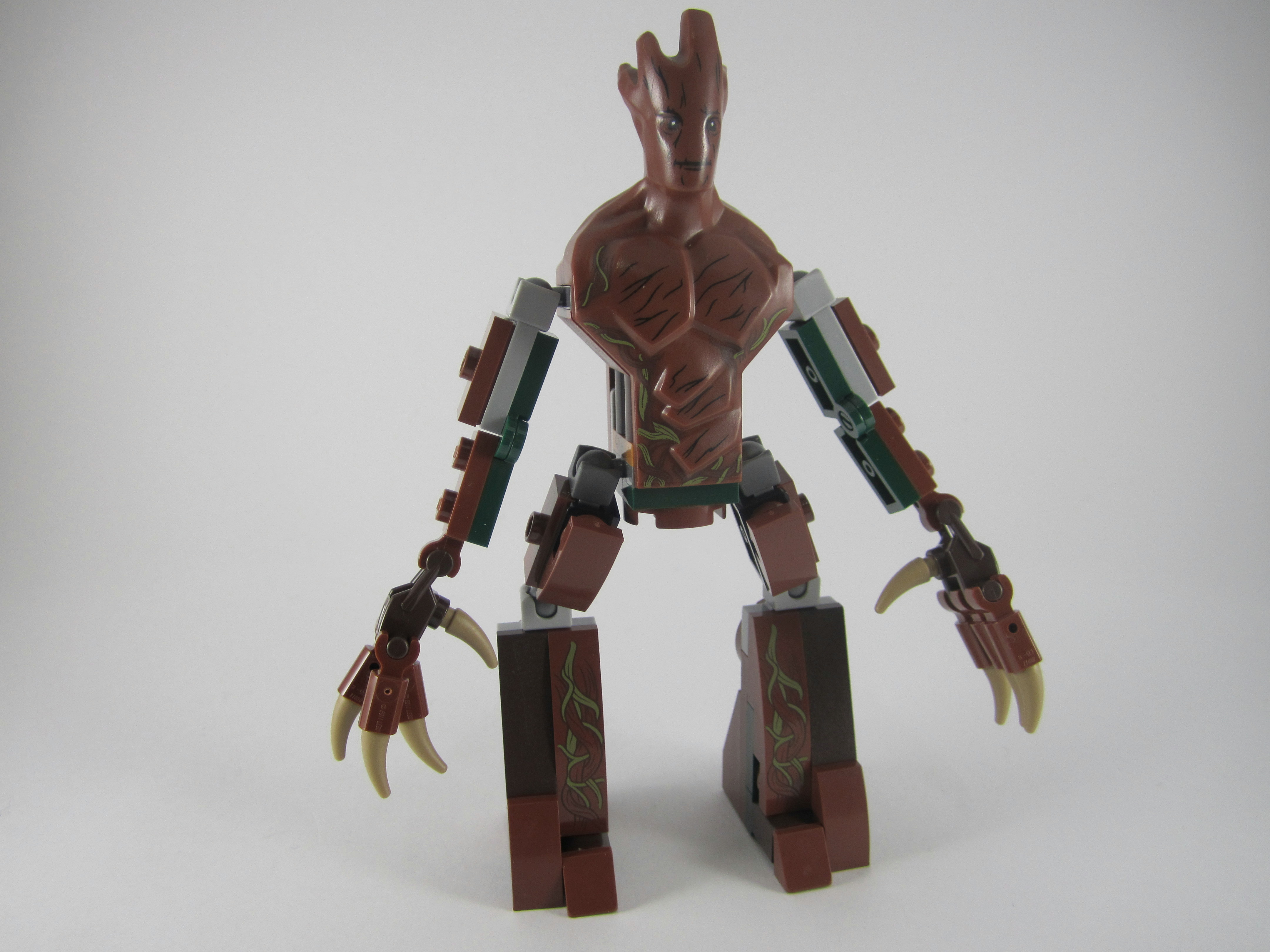 Lego Groot Big Figure Guardians of the Galaxy Super Heroes 76020