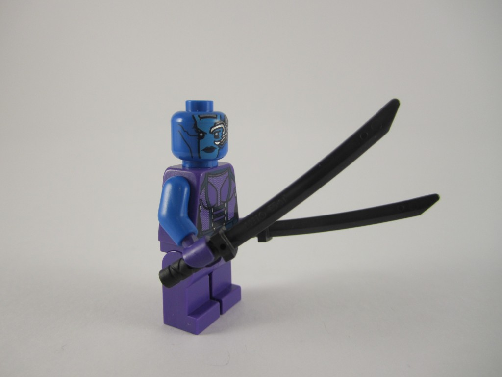 LEGO Guardians of the Galaxy Nebula Minifig