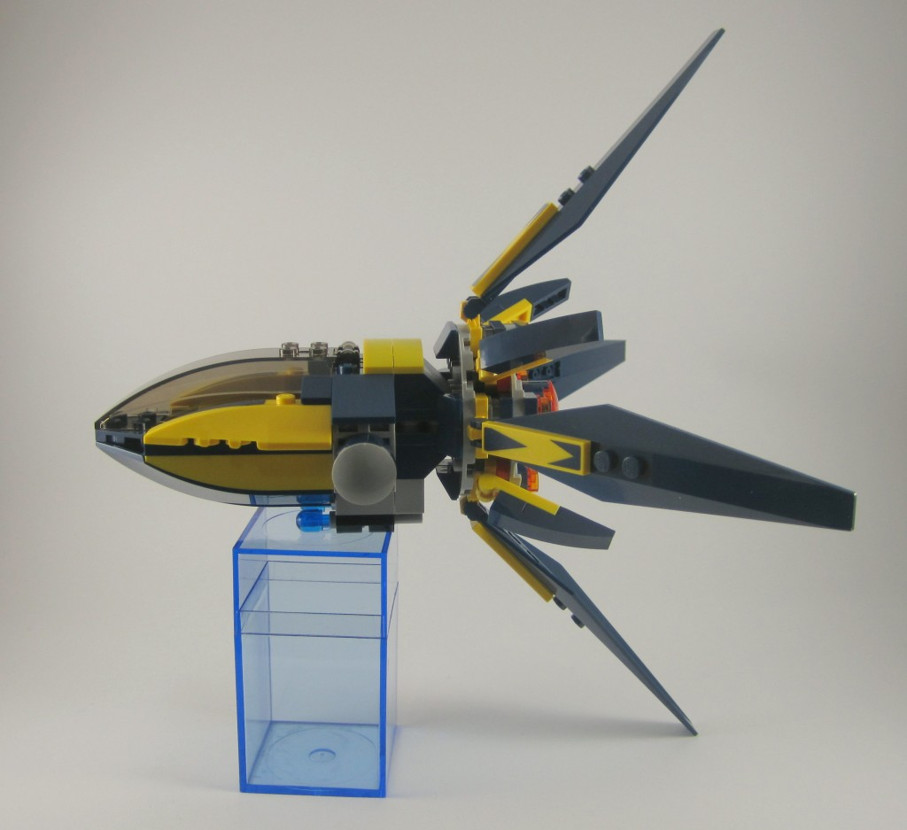 LEGO Guardians of the Galaxy Starblaster Side View