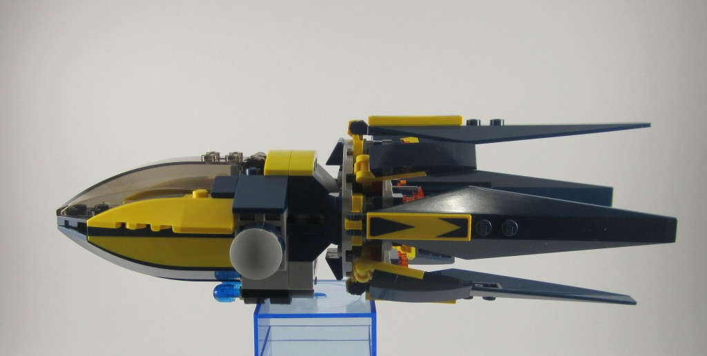 LEGO Guardians of the Galaxy Starblaster Side View Flat