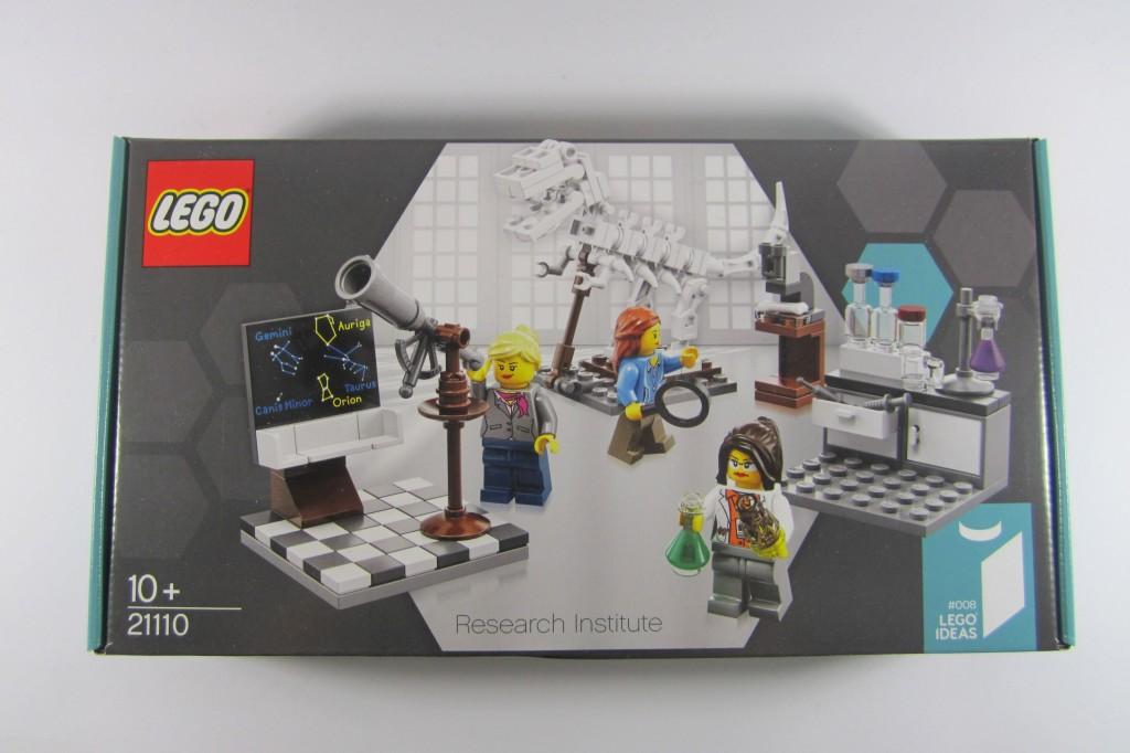 LEGO Ideas 21110 Research Institute Box Art
