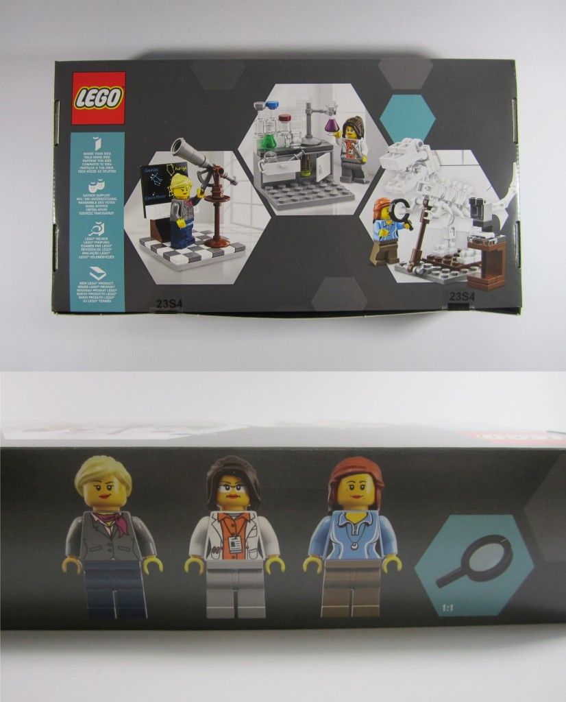LEGO Ideas 21110 Research Institute Box Details