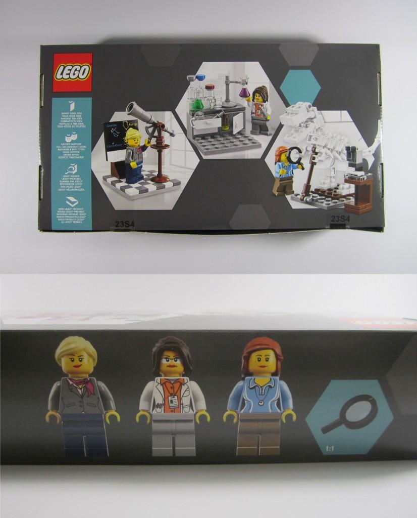 LEGO Ideas 21110 Research Institute Box Details