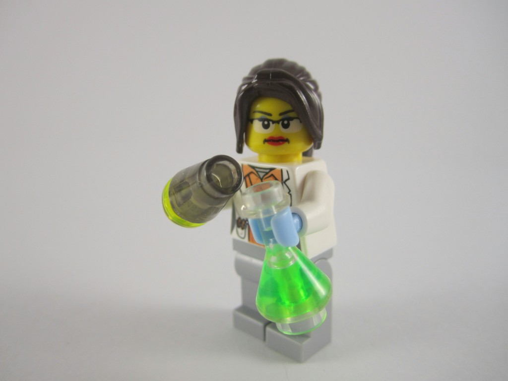 LEGO Ideas 21110 Research Institute   Chemist with Gloves