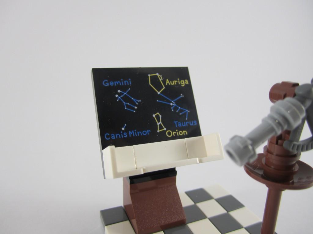 LEGO Ideas 21110 Research Institute  Constellation Board