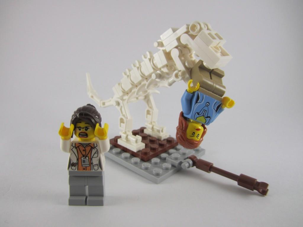 LEGO Ideas 21110 Research Institute Dinosaur Accident